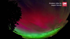 2011: Time-lapse of Aurora Borealis