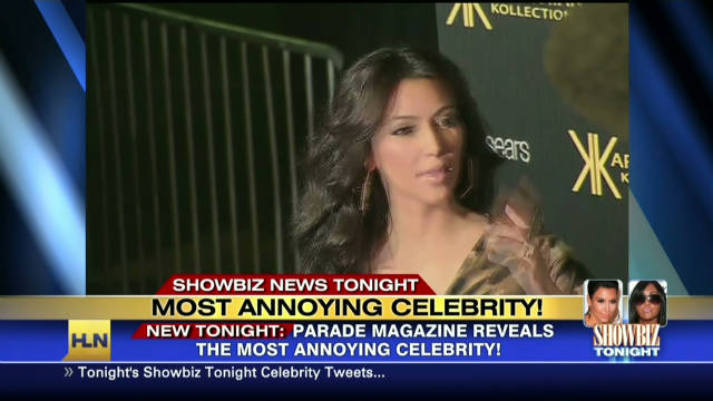 Who is the most annoying celebrity?