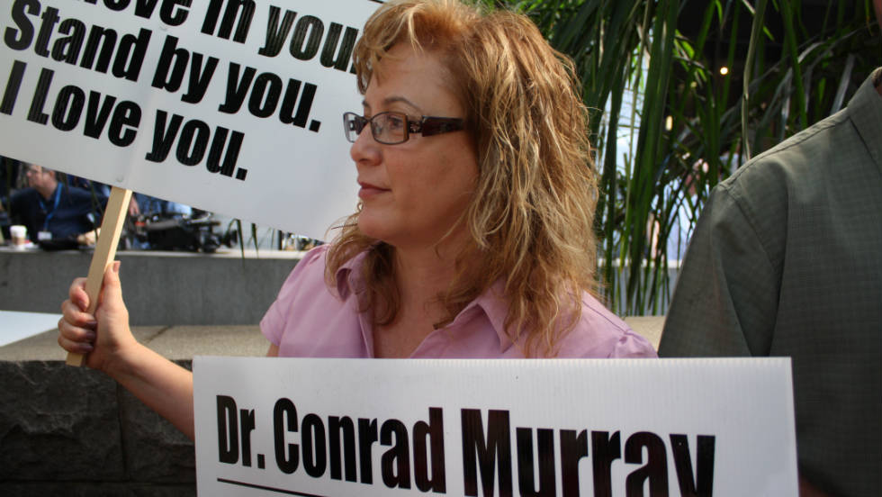 "Stacy Ruggles says she's a personal friend of Dr. Conrad Murray. She's supporting him, even though she's also a Michael Jackson fan. ""They have the same values. Their plight was unity, world peace and love,"" she says."