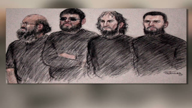 UK terror suspects appear in court