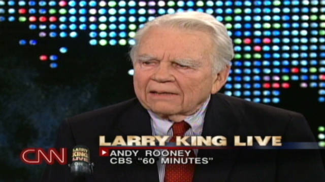 2002: Andy Rooney talks retirement