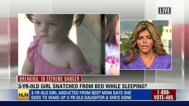 3 year old girl vanishes from bedroom