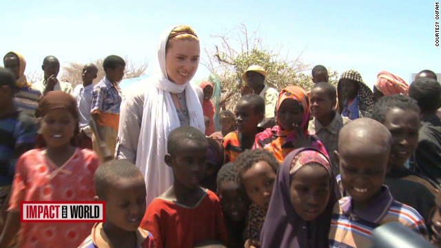 Johansson helps famine victims