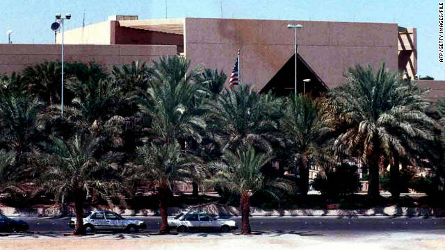 The U.S. Embassy in Saudi Arabia said Wednesday that it has received information about a terror threat.