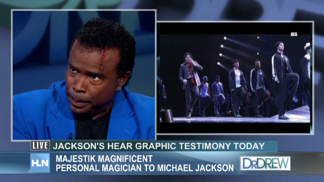 Jackson's magician: He was a class act