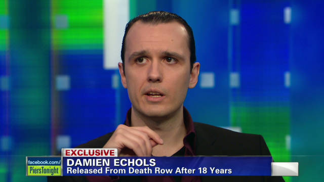 Damien Echols on conditions in jail