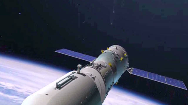 China's space program moving forward