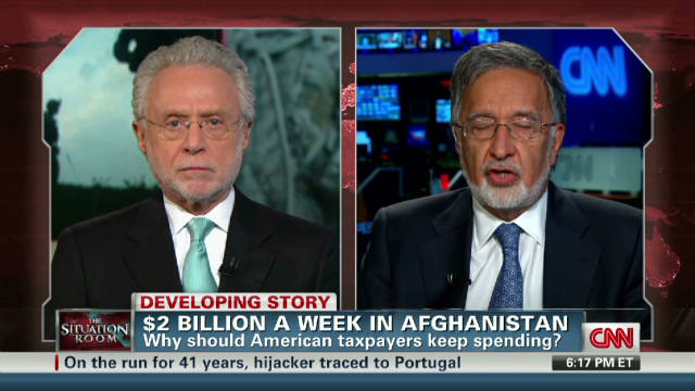 Afghan FM: We beat al Qaeda and Taliban _00002001