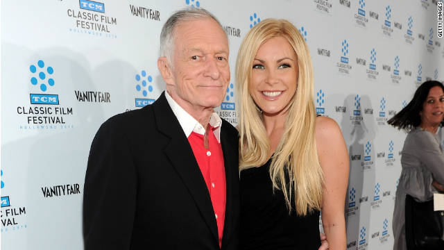 "Hugh Hefner insists he ""missed a bullet"" by not tying the knot with Crystal Harris."
