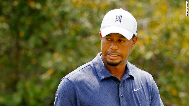 Tiger Woods has not won a professional tournament since the Australian Masters in November 2009.