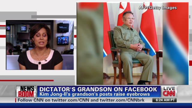 Kim Jong Il's grandson on Facebook?