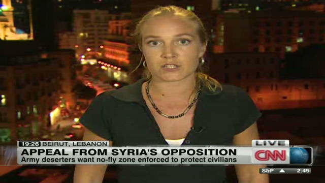 Deserters forming 'Free Syrian Army'