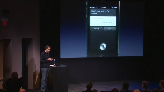 2011: Siri: Apple's new voice recognition