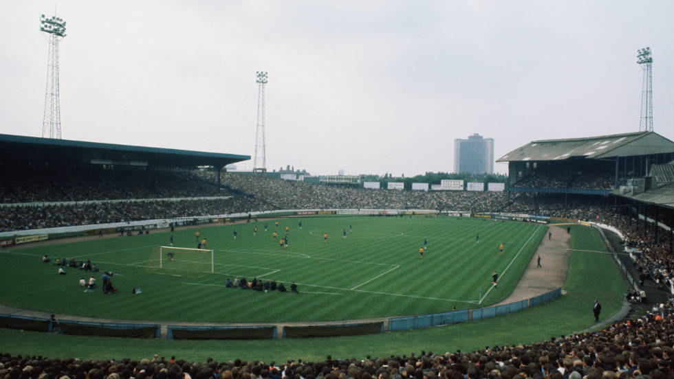 A view of Stamford Bridge in 1970, when Chelsea won England's most famous knockout competition for the first time. The club would have to wait another 27 years for a second such triumph.