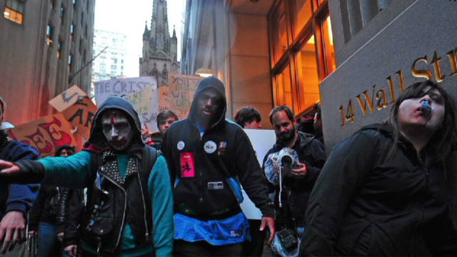 Unions join 'Occupy Wall Street'