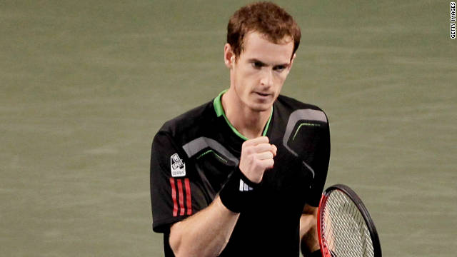 Scottish tennis star Andy Murray has won 19 ATP Tour titles since turning pro in 2005.
