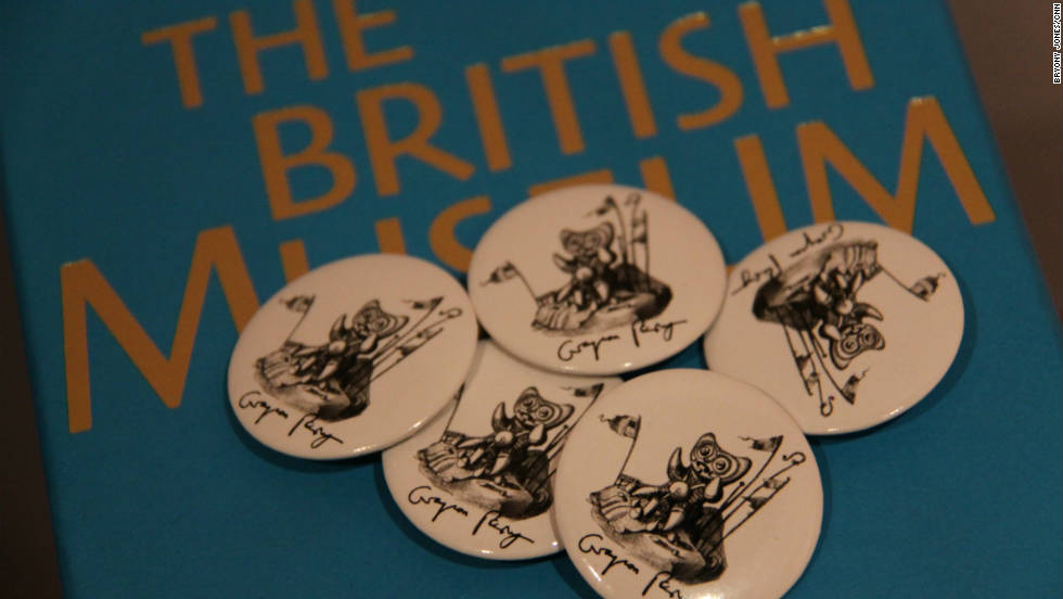 "Visitors who make the ""pilgrimage"" to the British Museum for the show -- which runs until February 2012 -- can take home their own Grayson Perry souvenirs."