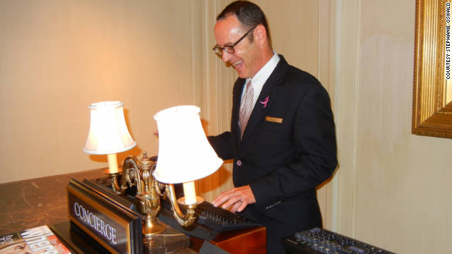 When To Call On The Concierge | Cnn Travel