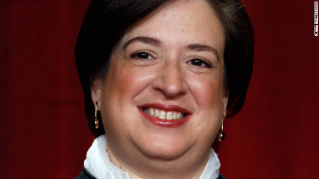 Justice Elena Kagan was the administration's top government lawyer handling appeals to the Supreme Court.