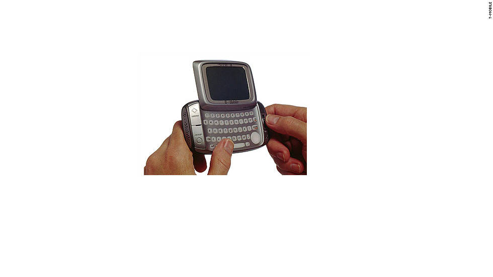 "You can blame the <a href=""http://wiki.sidekick.com/page/Sidekick+History"" target=""_blank"">Black & White T-Mobile Sidekick</a> for the millennial generation's obsession with text messaging. The phone was basically a two-way pager, allowing messages to be sent back and forth. The phone retailed for $249 and appeared in Jay-Z's music video ""Excuse Me Miss."" Later versions added a color screen and quickly became a favorite among celebrities and teens."