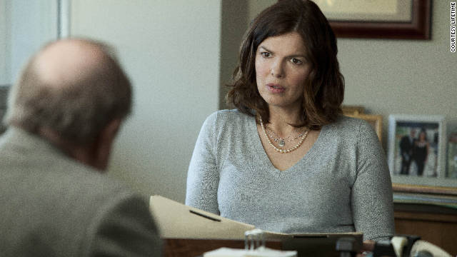 Jeanne Tripplehorn said breast cancer hits close to home because family members have been affected.