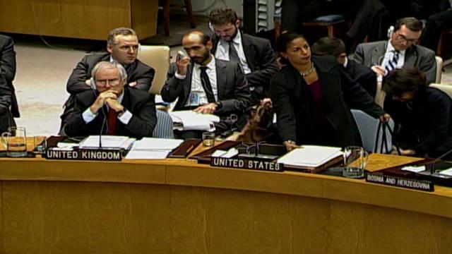 US ambassador walks out on Syrian speech