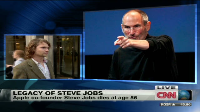 Steve Jobs remembered in London