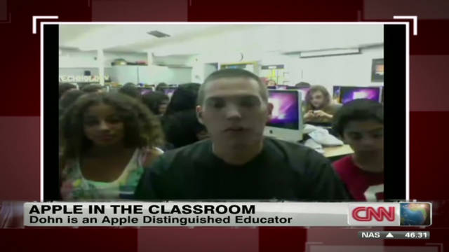 Apple in the classroom: Mark Dohn