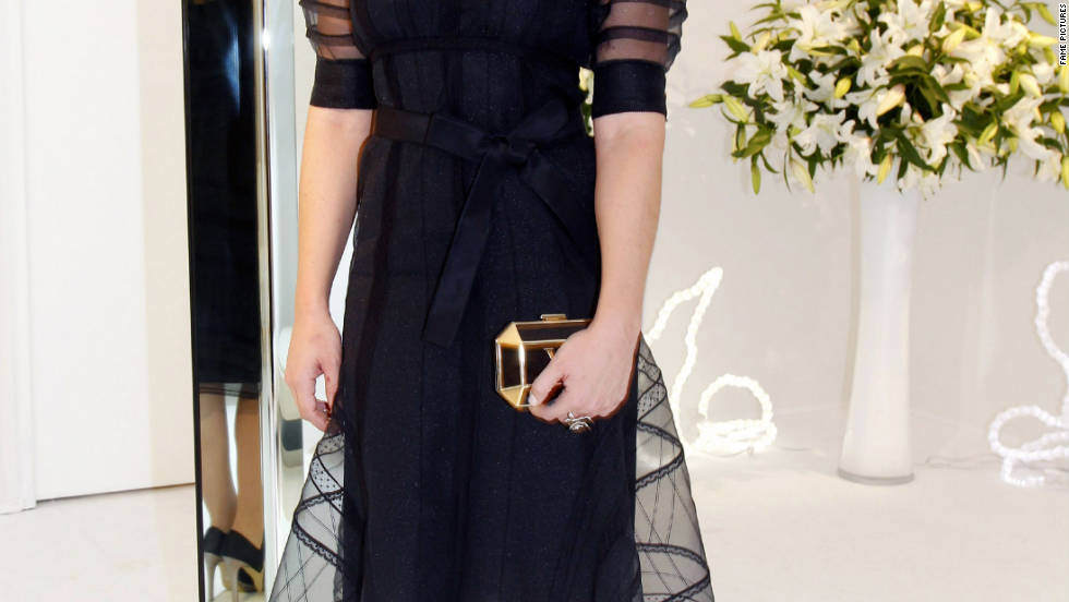 Abbie Cornish attends Paris Fashion Week in Paris, France.