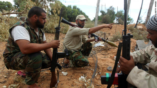 Gadhafi loyalists hold out in Sirte