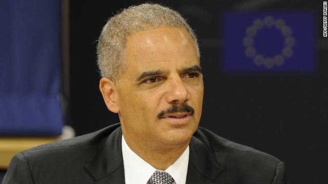 "U.S. Attorney General Eric Holder on GOP criticism of his handling of a controversial gun enforcement operation: ""Such irresponsible and inflammatory rhetoric must be repudiated."""