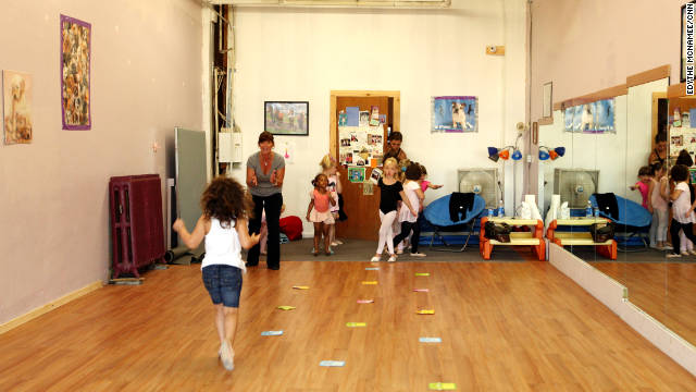 Rhonda Foote teaches dance classes to kids of military, and non-military, families.