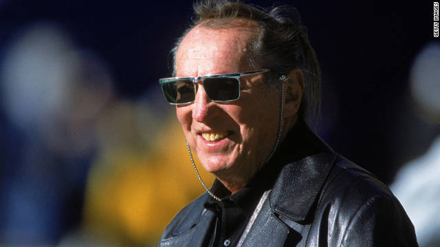 Al Davis was inducted into the Football Hall of Fame in 1992.