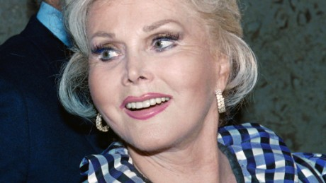 Zsa Zsa Gabor, seen here in a 1999 photo, was rushed to the hospital on October 8.