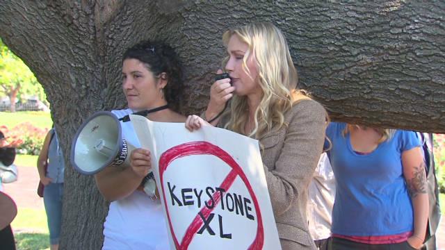 Keystone pipeline fight