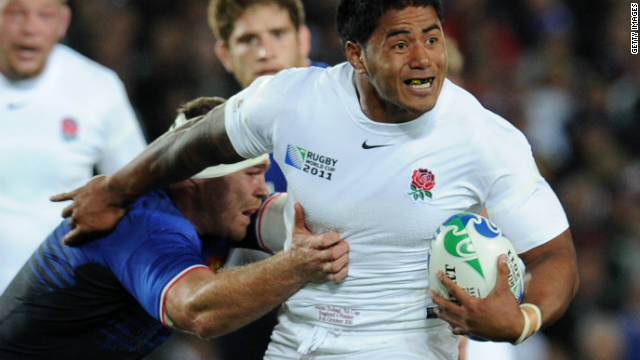 Manu Tuilagi scored two tries in five matches for England at the 2011 Rugby World Cup.