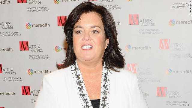 Rosie O'Donnell said she was attracted to Michelle Rounds the moment she saw her in a Starbucks this summer.