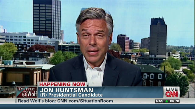 Huntsman: Pastor's comments 'outrageous'