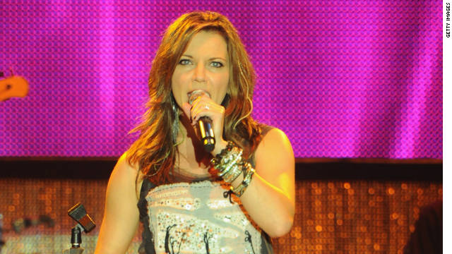 Martina McBride performs during the Country Thunder music festival in July in Twin Lakes, Wisconsin.
