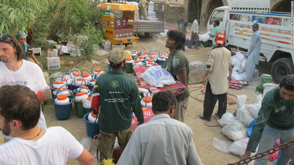 Gift of the Givers is the biggest disaster relief group of African origin.
