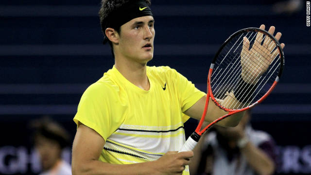 Australian Bernard Tomic reached his first grand slam final at Wimbledon earlier this year.