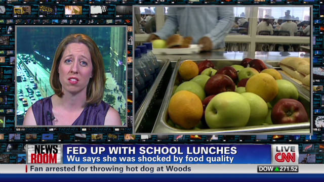 Why blogger ate student lunches