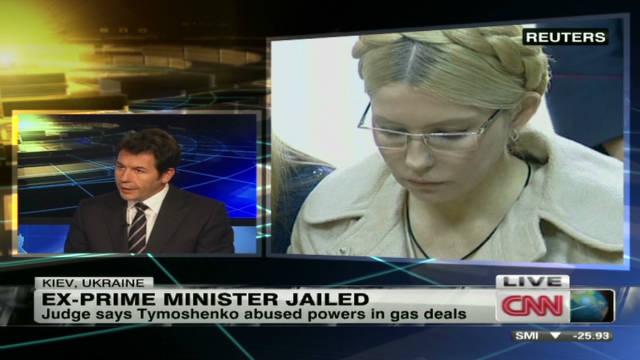 Former Ukraine PM sentenced to prison