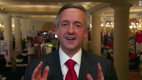 Rev. Robert Jeffress of the Texas megachurch First Baptist in Dallas.