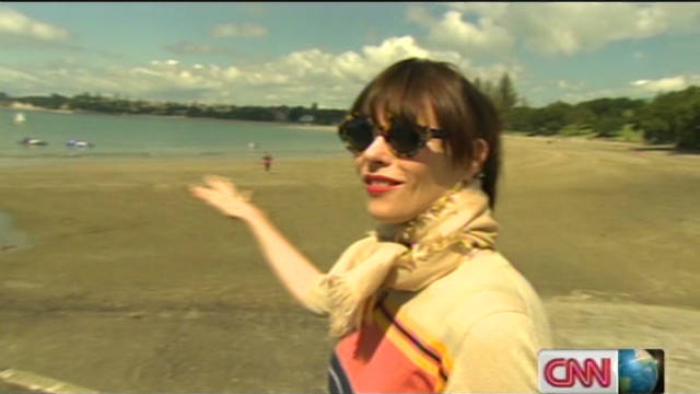New Zealand's beach culture