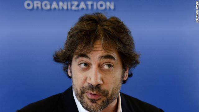 """Bardem confirmed that he would be playing the bad guy in """"Bond 23."""""""