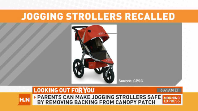 B.O.B. jogging strollers recalled