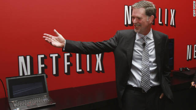 Reed Hastings, CEO of Netflix, is willing to take a risk and try new things, says Robbie Kellman Baxter.