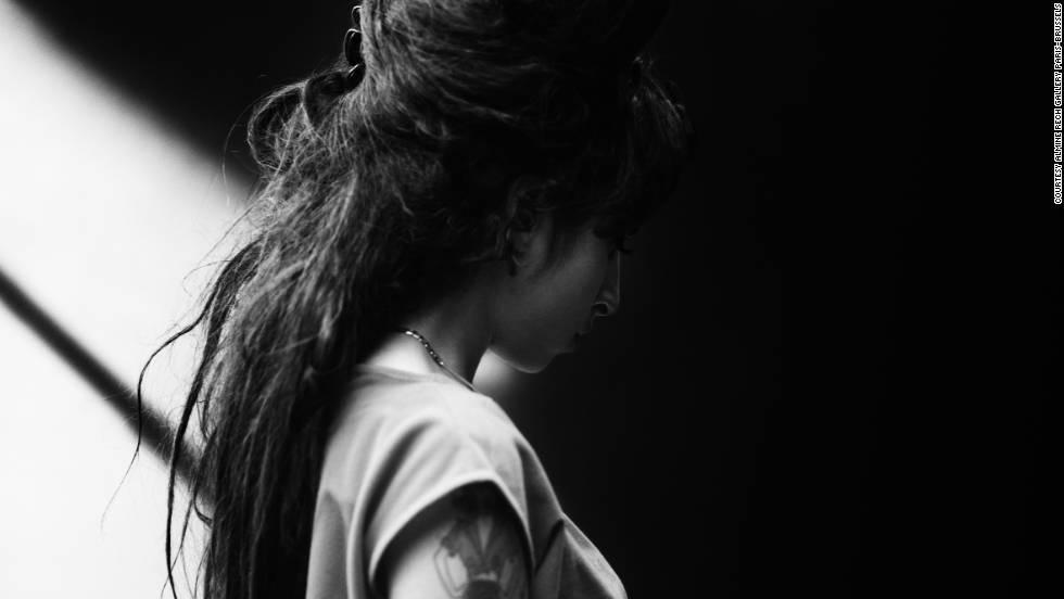 Late singer Amy Winehouse, Barcelona, 2007