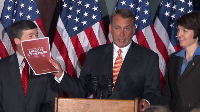 Boehner: 'Common ground must be found'